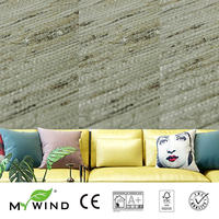2019 MY WIND Grasscloth Wallpaper ratten shell 3D wallpapers designs office TV natural scenery decorative wall paper