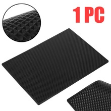 New Car Dashboard Sticky Pad Anti-Slip Cell Phone Mat Holder For Key Sunglasses Cigarette Coins Non-slip Pad Decorative Black malleable non slip sticky cell pad
