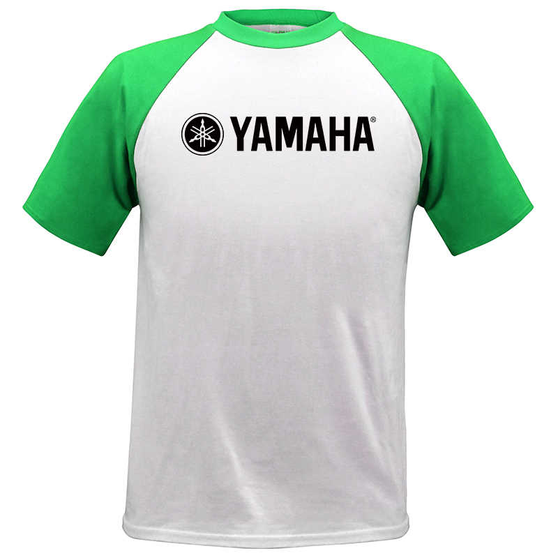 3b9b9154 Cool Fashion YAMAHA T shirt Brand Clothing Letter Print tees Short Sleeve  High Quality Raglan T