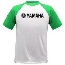 e83966f60fc Cool Fashion YAMAHA camiseta de marca de ropa de letra impresa camisetas de manga  corta de alta calidad Raglan camiseta para muj.