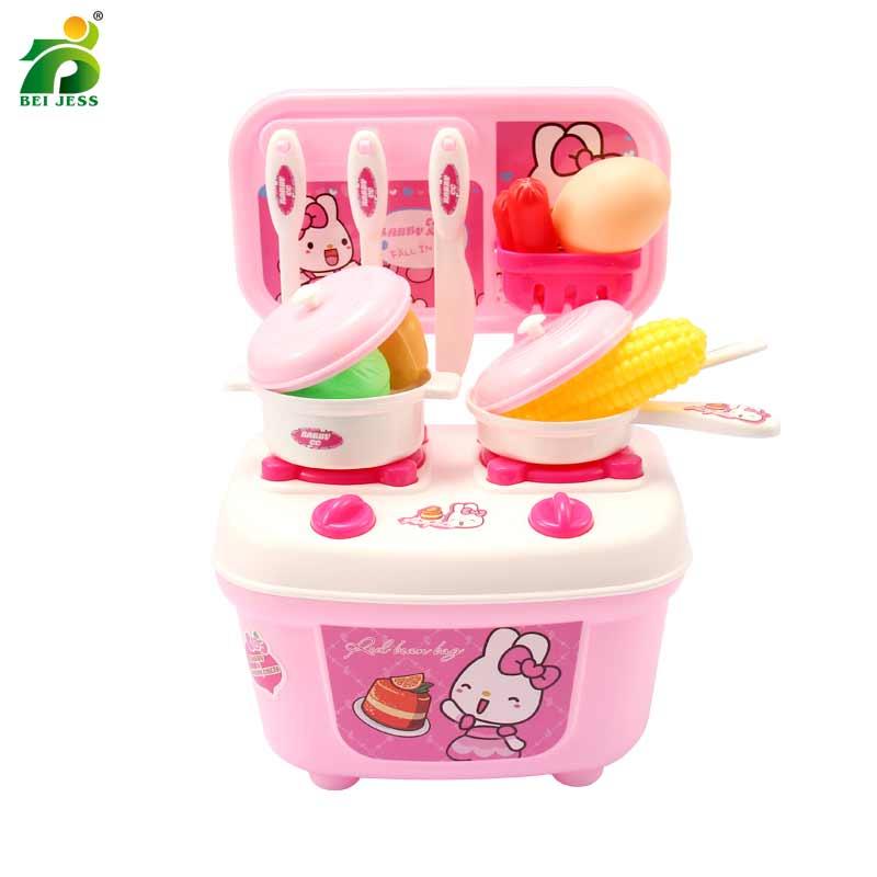 16 pièces fille semblant jouer ensemble Miniature nourriture cuisson légume mignon éducation cuisine jouet pour enfants BEI JESS