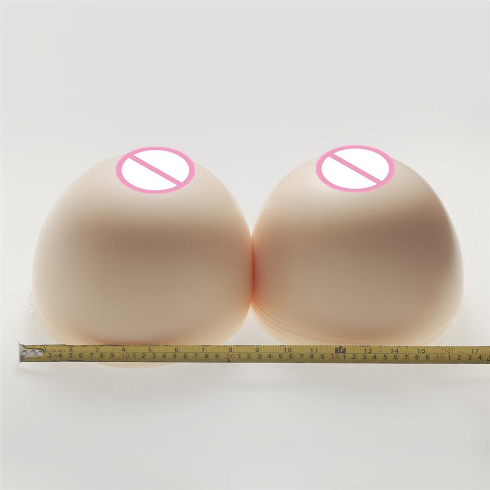 Super Silicone Breast 6000g/Pair White Simulation Silicone Breasts Form Drag Queen Crossdresser Huge Artificial Fake BoobsSuper Silicone Breast 6000g/Pair White Simulation Silicone Breasts Form Drag Queen Crossdresser Huge Artificial Fake Boobs
