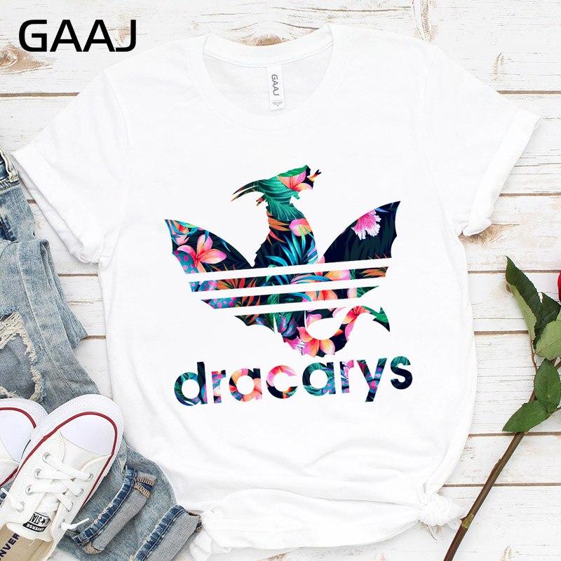 Dracarys-Camiseta para mujer, camiseta de Madre de dragones, camisetas para mujer, camiseta de Reina Rey, regalo para chicas, 2019