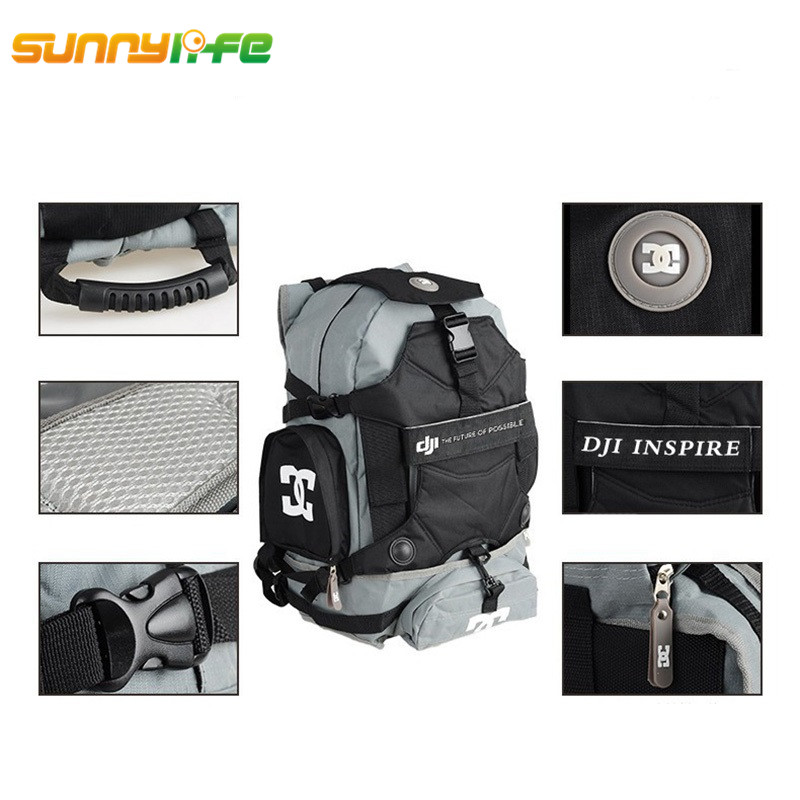DJI Inspire 1 Shoulder Backpack Case Travel Bag Carry Backpack Waterproof Bag for DJI Inspire 1 Drone FPV