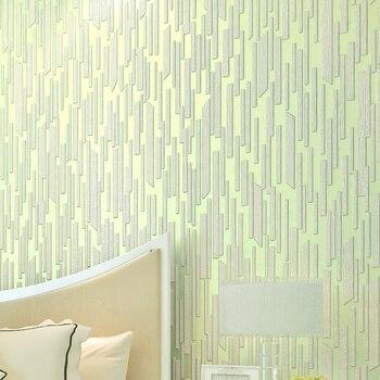 wellyu  papel de parede Non-woven wallpaper modern minimalist TV backdrop 3D stereoscopic vertical stripes living room bedroom