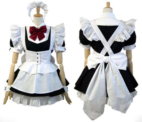Cosplay Lolita maid dress Costume Custom Made Free Shipping