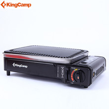 KingCamp Outdoor & Indoor BBQ & Grill With 2 Gas Connection Options