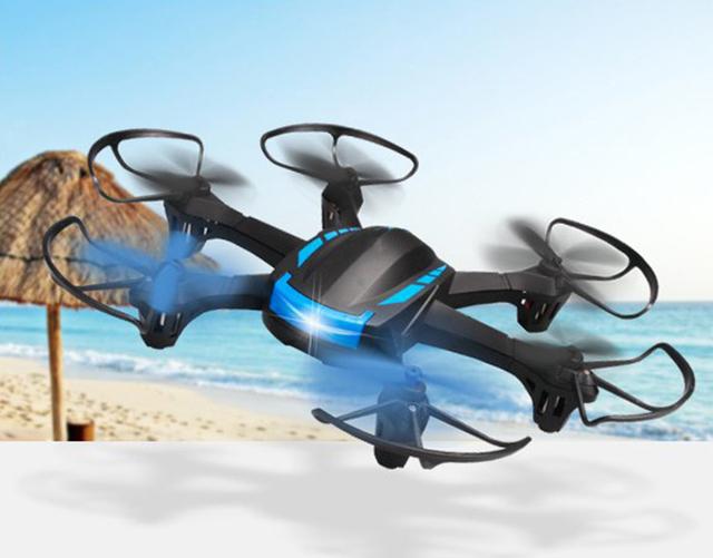 Nova H21 2.4 GHz 4CH RC Zangão Headless Modo RTF Hexacopter Um Retorno Helicóptero com Luzes LED