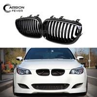 E60 M5 Style Front Bumper Kidney Grille Mesh For BMW 5 Series E60 E61 2004 2009 520i 525i