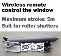 AC Tubular Motorized Roller shutters Curtains Motor Remote Control by Broadlink or Geeklink or Remote Button