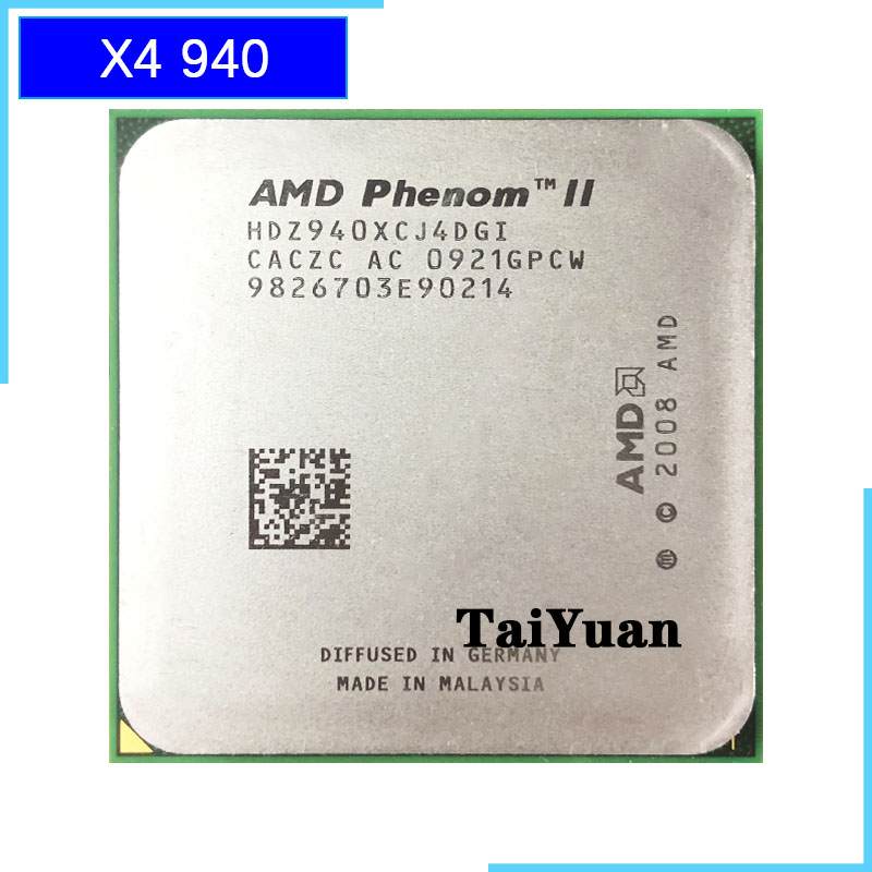 Amd Phenom X4 940 X4 940 3 0 Ghz Quad Core Cpu Processor Hdz940xcj4dgi 125w Socket Am2 Contact To Sell X4 920 Cpu Processors