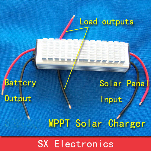 Real MPPT Solar Charge Controller Improve current 30%  40V20A  charge all kinds battery  water proof