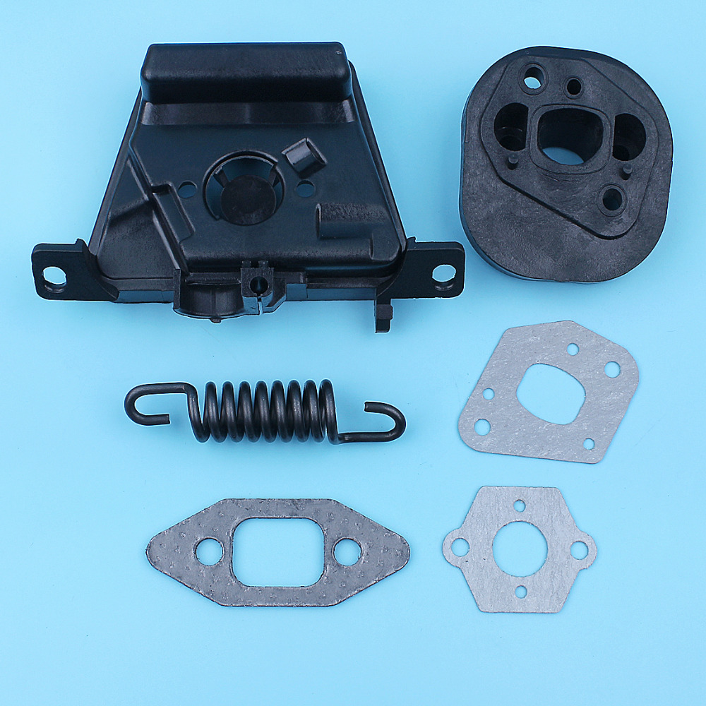 Carb Adapter Spacer Gasket Set For Poulan 2050 2075 2150 2175 2250 PP220 PP260 2055 Chainsaw 530-049700 Spare Part 530069608