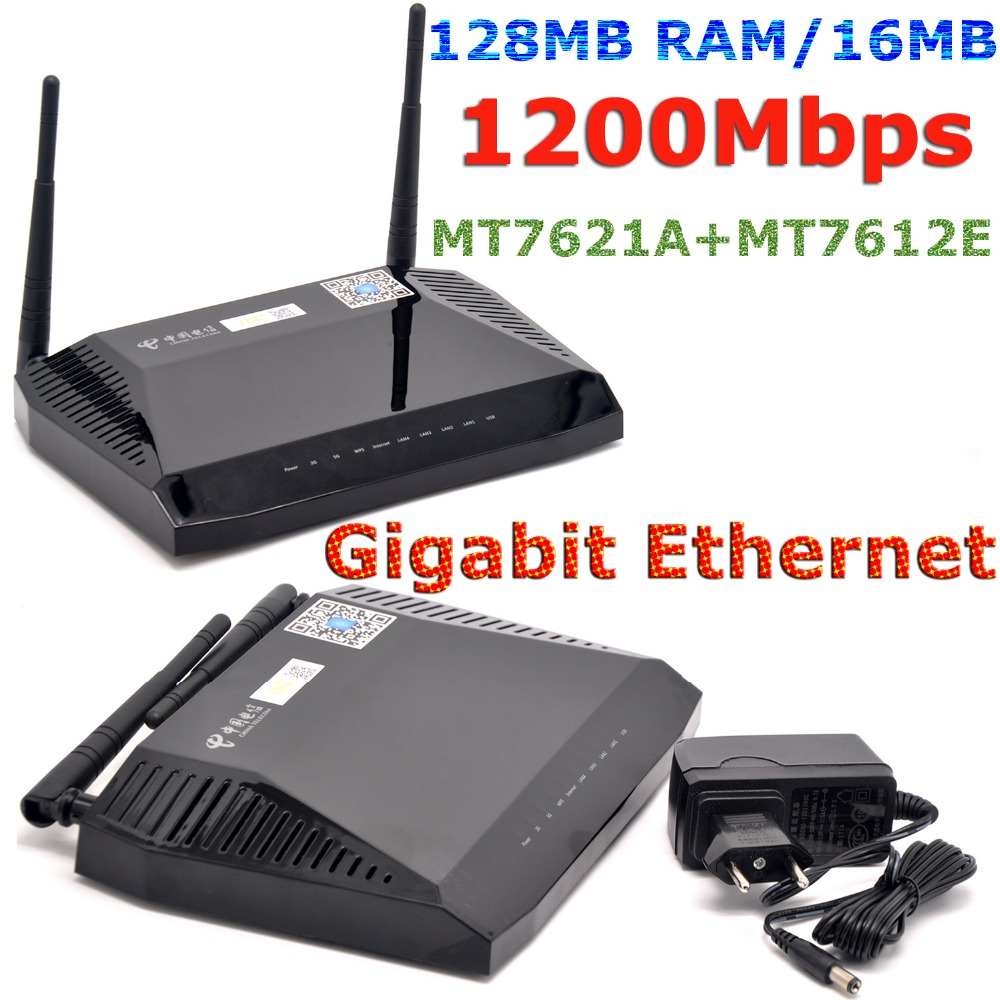 Wi-Fi-маршрутизатор MTK MT7621A, 1200 Мбит/с, 802.11ac, 5 ГГц
