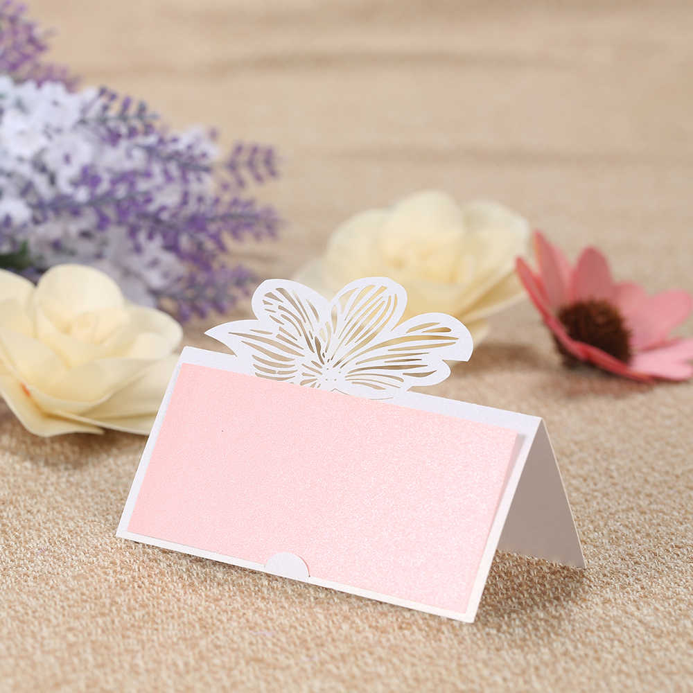 20pcs Laser Cut Table Card Holders with Blank Sheets Set Pearl Paper Place  Name Table Cards for Wedding Party Banquet Decoration|card blanks|paper  cards blankblank cards - AliExpress