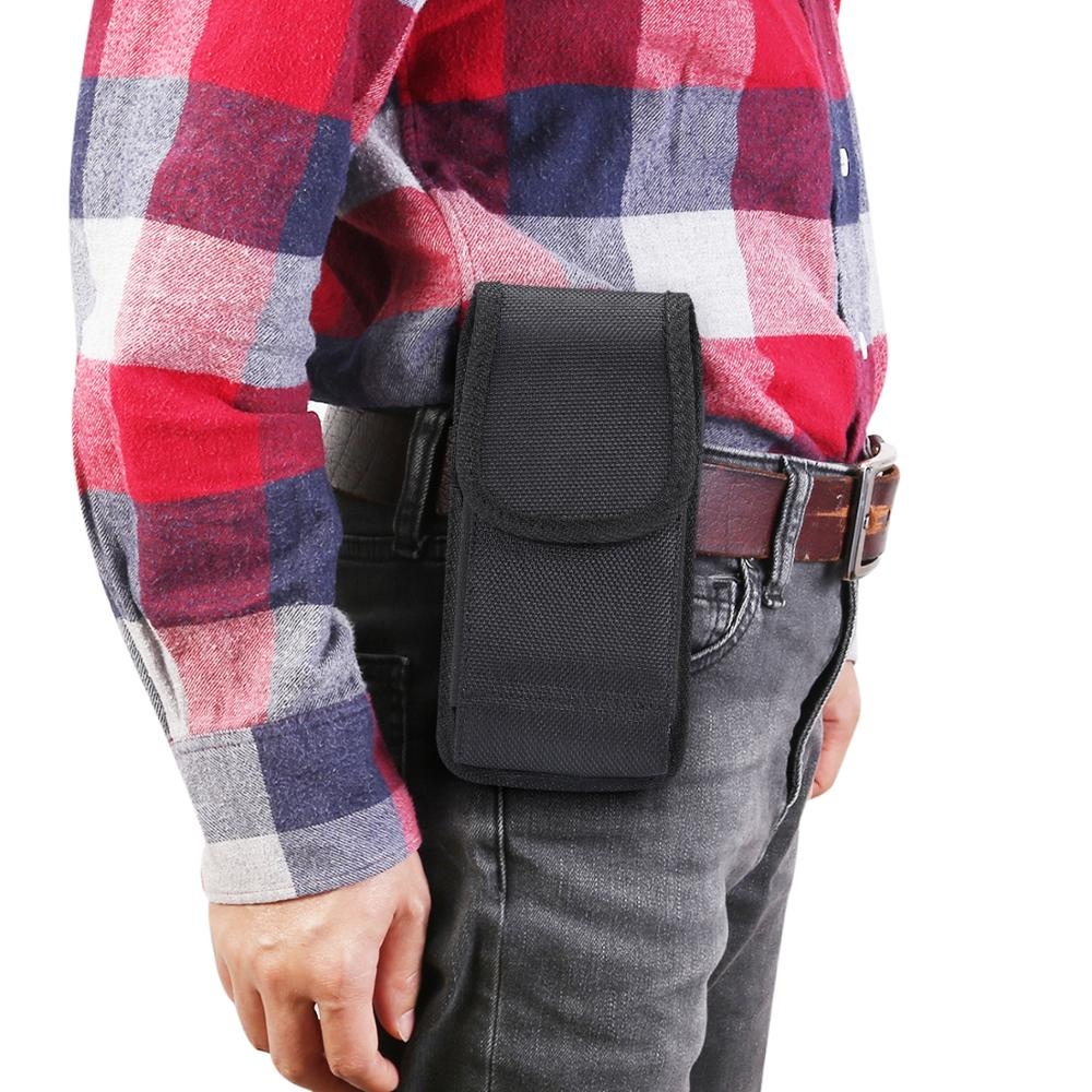 2019 New Phone Bag Clip Waist Belt <font><b>Smartphone</b></font> Case Cover for <font><b>Huawei</b></font> Y5 Y6 Y7 Prime <font><b>P30</b></font> Pro <font><b>Lite</b></font> Honor 20 10i 10 P Smart Z Plus image