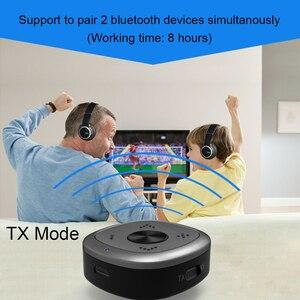 Image 4 - APTX HD Bluetooth 5.0 משדר מקלט CSR8675 אלחוטי אודיו מתאם 3.5mm Lossless נמוך עיכוב עבור PC טלוויזיה אוזניות D2 001