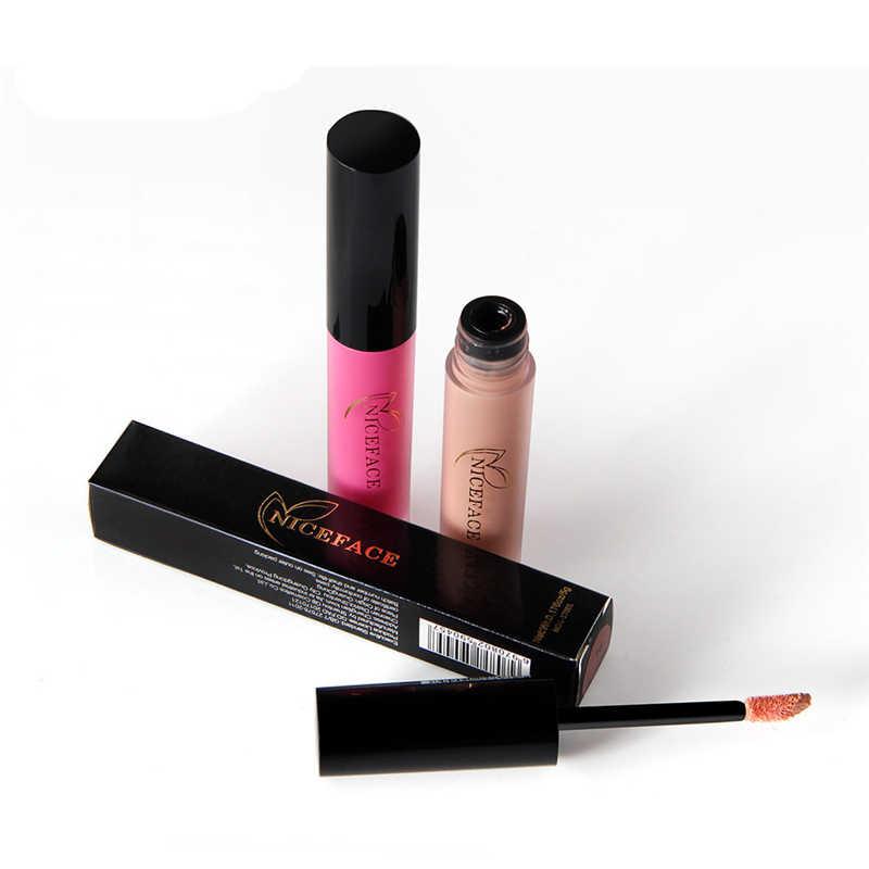 Meilleur rouge à lèvres 25 couleur imperméable à l'eau mat rouge à lèvres liquide rouge à lèvres imperméable à l'eau durable cosmétique rouge à lèvres maquillage