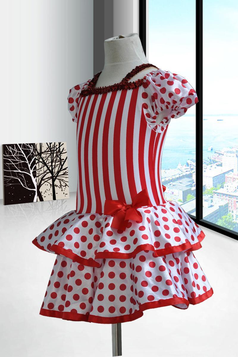Fustanet e Fëmijëve të Ri për Vajzat Rrobat e Vallëzimit - Kostumet - Foto 2