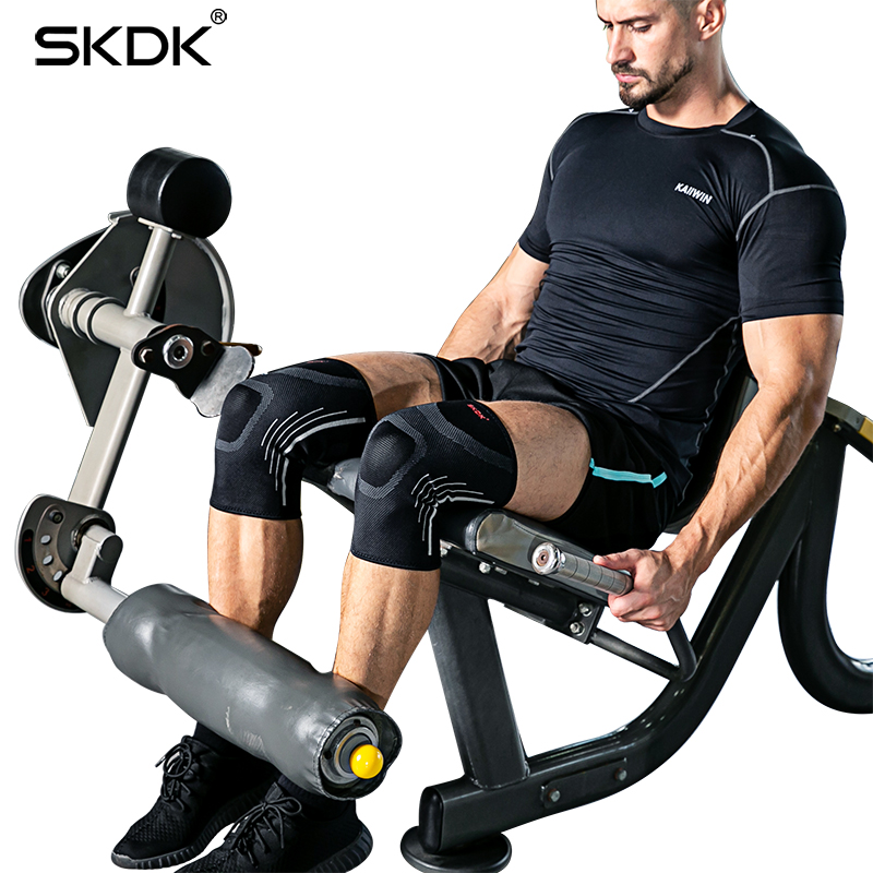 4a1d269de5 SKDK 1Pair Sports Knee Brace Men's Running Kneeling Fitness Meniscus Anti-injury  Ladies Summer Thin Knit Knee Pads Protector
