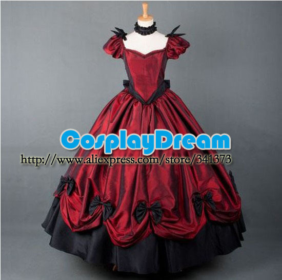 Custom made Elegant classic gothic victorian prom dresses lolita ball gown  long dress evening dress Gothic Lolita costume e4e5d742d7f9