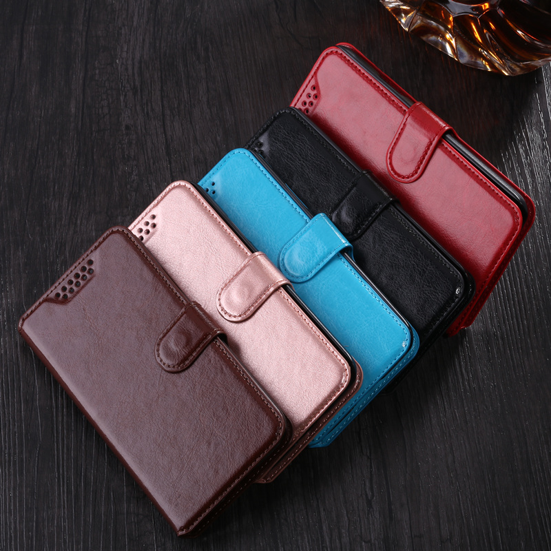 Flip Case for <font><b>Sony</b></font> <font><b>Xperia</b></font> <font><b>E1</b></font> D2004 <font><b>D2005</b></font> D2104 Cover Bags Retro Leather Wallet case Protective card holder Book Phone Shell image