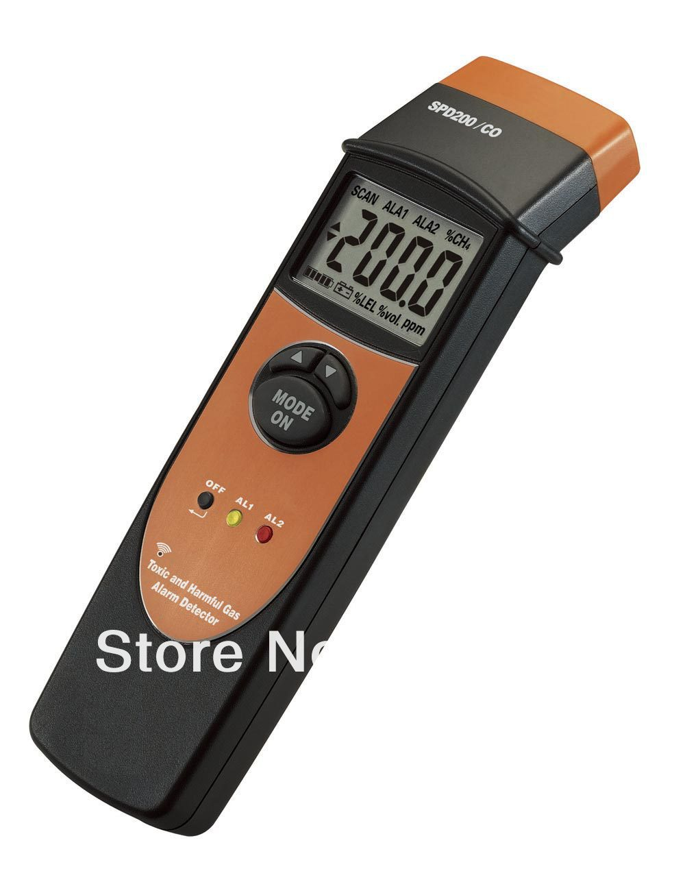 SPD200/CO Mini Alarm Carbon Monoxide Meter CO Monitor Gas Tester Detector 0-1000PPM