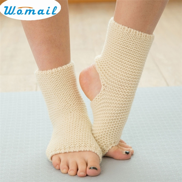 Womail Newly Design Stirrup Leg Warmers Women Winter Fashion Knitted
