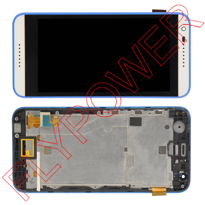 For HTC Desire 620G D620u LCD Display with Touch Screen Digitizer Assembly with Frame by Free shipping for htc desire 816g lcd screen display with touch screen digitizer assembly by free shipping 100