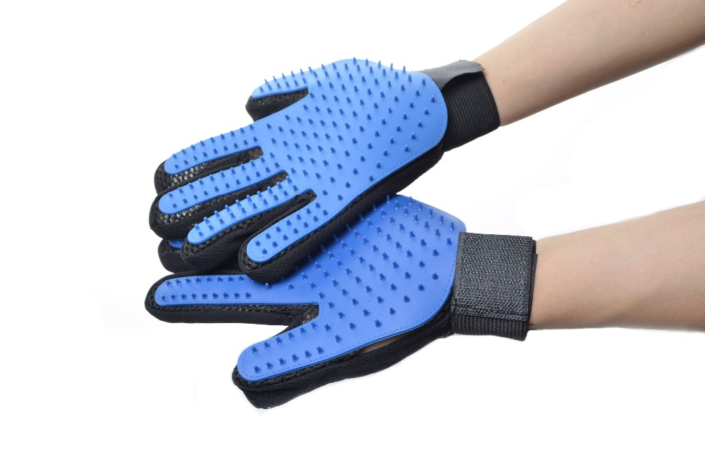 Pet's Grooming Brush Gloves