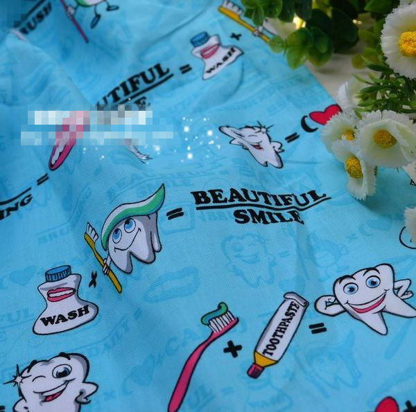 100X150 CM Kawaii Zähne Teethbrush Baumwolle Patchwork Cartoon ...