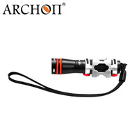 100% original ARCHON D1A CREE XP-E R3 LED Lặn Nhẹ OP Phản Xạ Đèn Pin 75 Lumens lanterna spear fishing lampe torche