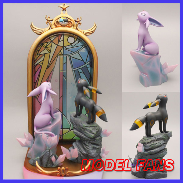 MODEL FANS IN-STOCK 18cm poket monster Espeon and Umbreon gk resin statue figure toy for Collection martyrs faith hope and love and their mother sophia 3d model relief figure stl format religion for cnc in stl file format