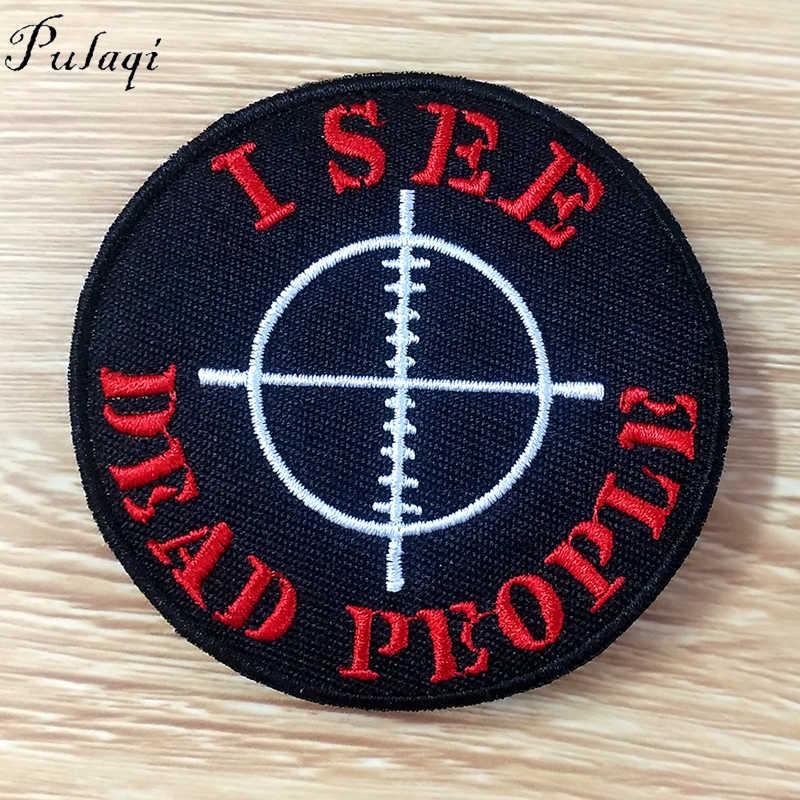 Pulaqi Viking Lencana Punk Patch Odin Bendera Besi Pada Patch Kompas Batu Tengkorak Di Ransel Patch untuk Pakaian DIY Stiker F