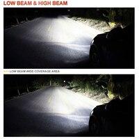 bulb 12v BraveWay 2019 NEW Item 12V CSP Chip Mini H4 LED Headlight H11 H7 LED Lamp for Car Light Bulb 9005 9006 HB3 HB4 H8 H7 LED Bulb H4 (2)