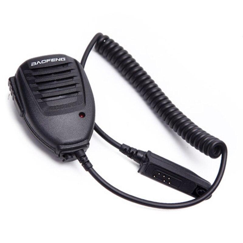 Baofeng Original Waterproof PTT Portable Radio Speaker Mic For Walkie Talkie BF-A58 BF-9700 UV-9R UV-XR GT-3WP Two-way Radio