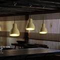 LED De suspension en ciment Loft nordique luminaires suspendus Vintage lampe suspendue industrielle pour éclairage intérieur Lustres De Sala