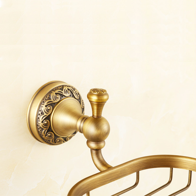 European Antique Bronze Brass Carved Bathroom Accessories Retro Set Home Decor Ebay