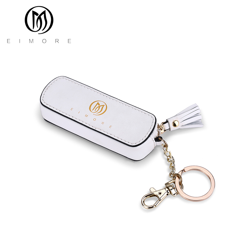 EIMORE New Women Coin Purse Fashion Mini Wallets Female Tassel Pendant Short Money Wallets PU Leather Lady Zipper Coin Purses