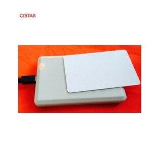Image 3 - RFID UHF USB Desktop card reader writer encoder 860 960MHZ with free English development software uhf rfid card test sample