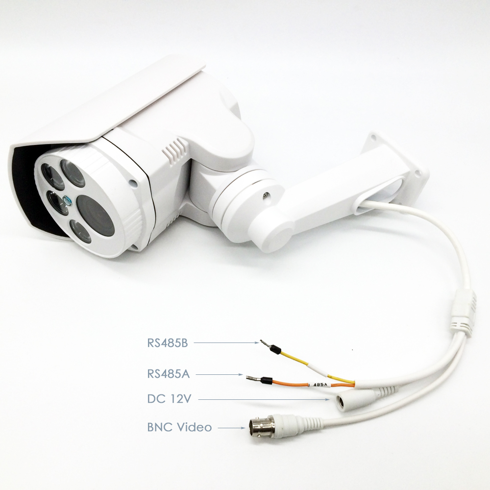 OwlCat AHD Bullet Camera HD 1080P AHDH IR Outdoor 4X 10X Pan Tilt - Bezpieczeństwo i ochrona - Zdjęcie 4