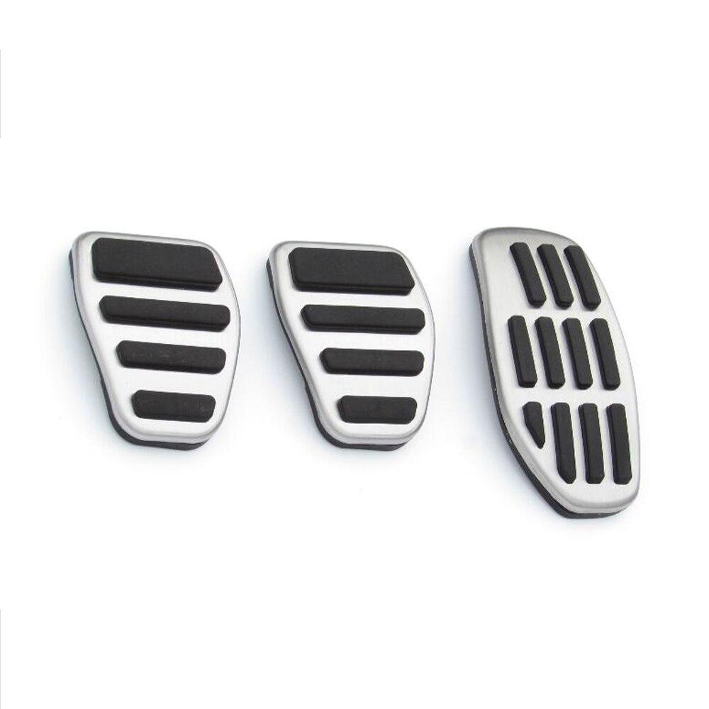 Esporte Confortável steelFuel inoxidável Brake Footrest Pedal MT para Nissan X-trail Qashqai Teana Renault Kadjar