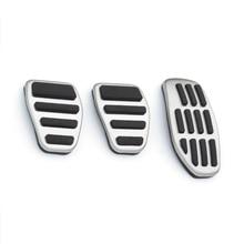 Sport  Comfortable stainless steelFuel Brake Footrest Pedal MT for Nissan X trail Qashqai  Teana  Renault Kadjar