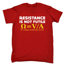 "Geek ""Resistance Is Not Futile"" t-shirt"