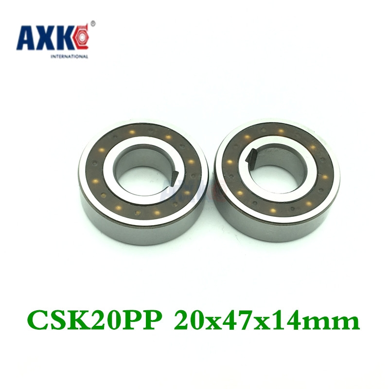 Axk Csk20pp One Way Clutches Sprag Type (20x47x14mm) One Way Bearings Freewheel Type Overrunning Clutch With Two Keyway