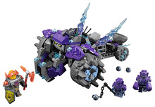 BELA Nexo Knights The Three Brothers Building Blocks Kits Model Kids Toys For Children Compatible lepin lele Nexus