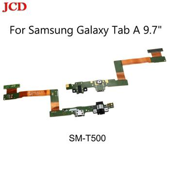 JCD New Flex Cable For Samsung Galaxy Tab A 9.7 T555 SM-T555 T550 USB Charge Dock Jack Connector Charging Port Flex Cable image