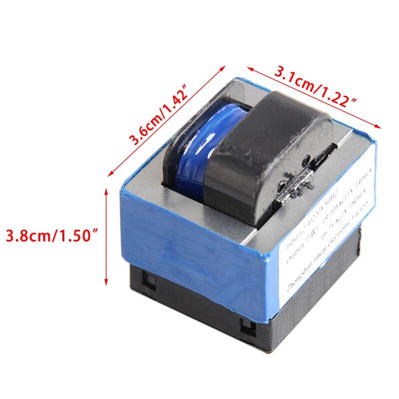 AC 220 V bis 11 V/7 V 140mA/180mA 7-pin Mikrowelle Power Transformator