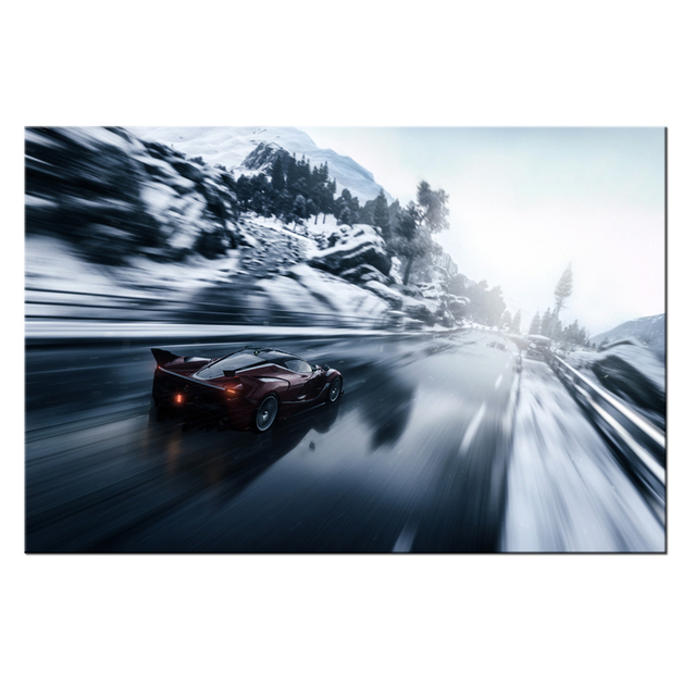 Hd Picture Canvas Wall Art Prints Sd Racing Home Decor For Bedroom Modern Painting Poster Artworks Contemporary Mural