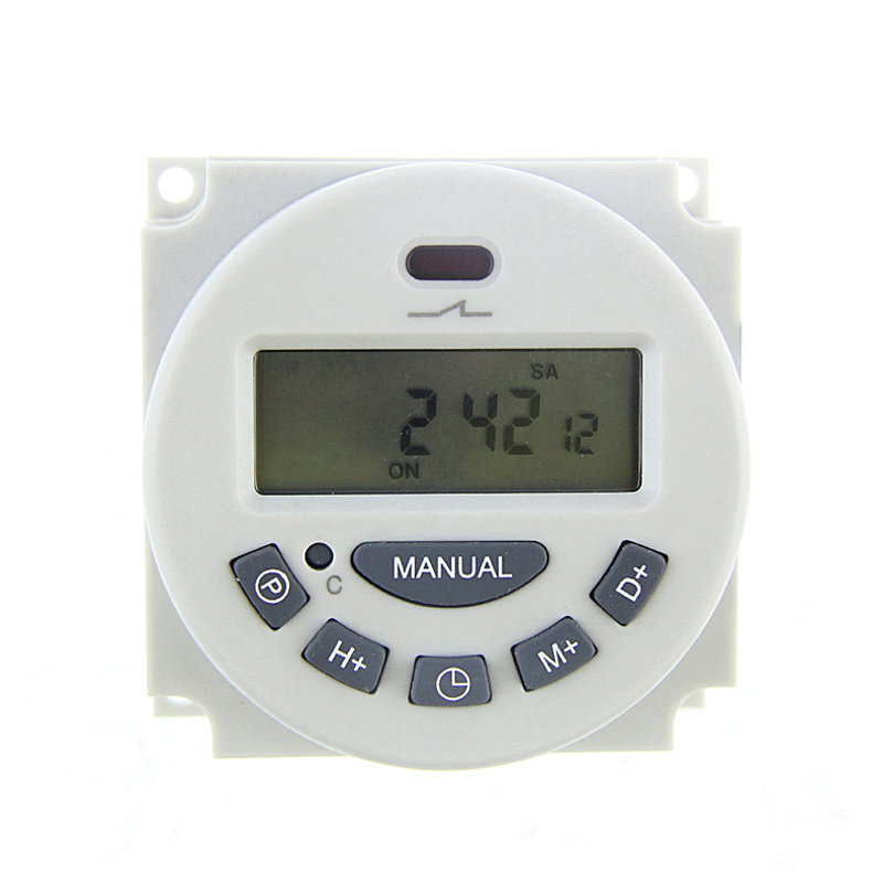 Digital LCD Programmable Timer Time Relay Switch Weekly Programmable Electronic Timer --M25